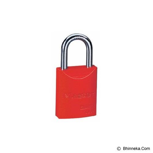 MASTER LOCK Powder Coated Aluminium [6835] - Red - Kunci Gembok